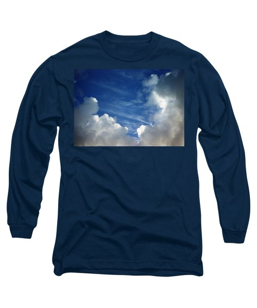 Long Sleeve T-Shirt featuring the photograph Maui Clouds by Evelyn Tambour