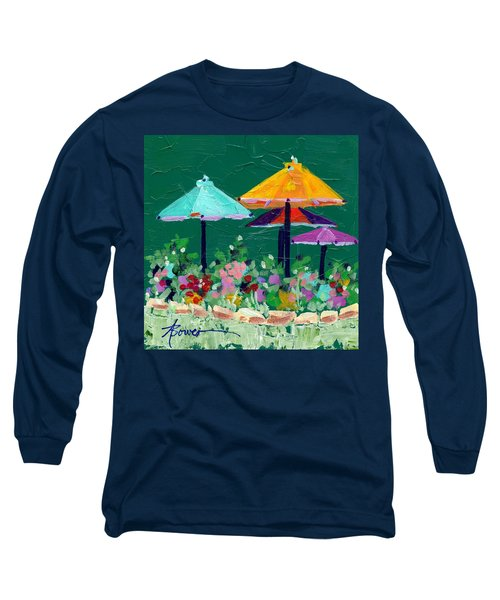 Meet Me At The Cafe Long Sleeve T-Shirt