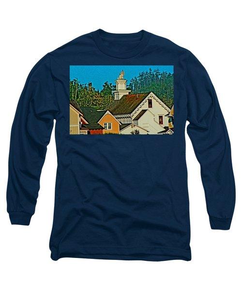 Mendocino California Long Sleeve T-Shirt