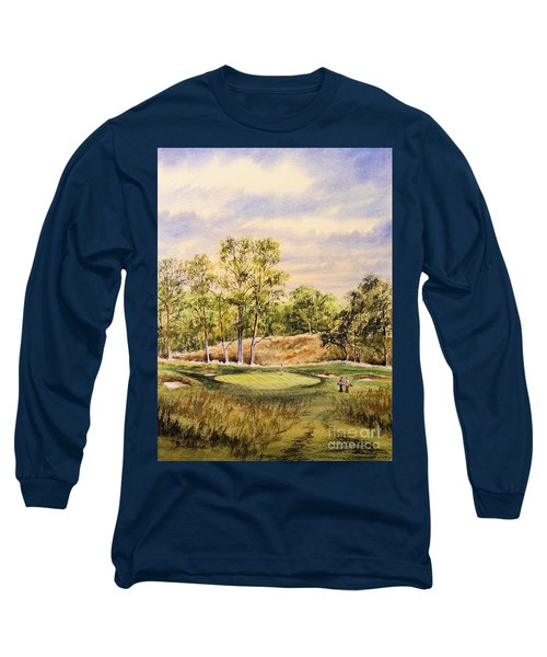 Merion Golf Club Long Sleeve T-Shirt by Bill Holkham