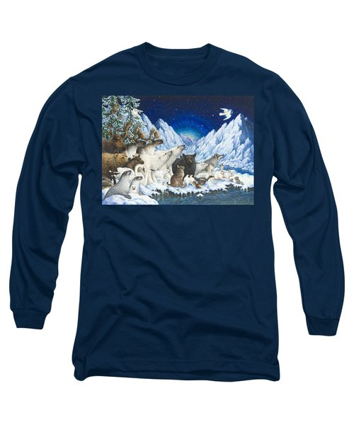 Message Of Peace Long Sleeve T-Shirt