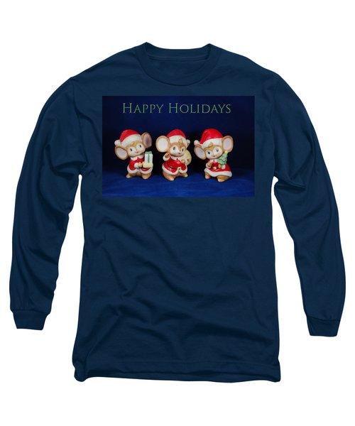 Mice Holiday Long Sleeve T-Shirt