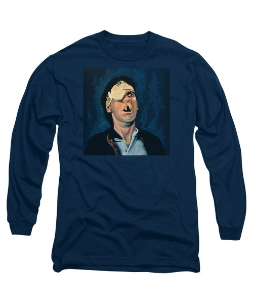 Michael Palin Long Sleeve T-Shirt by Paul Meijering