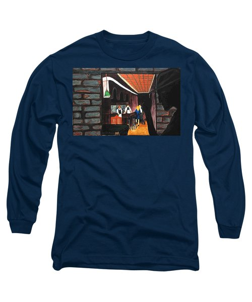 Midnight At Dylan's Long Sleeve T-Shirt by Lisa Brandel