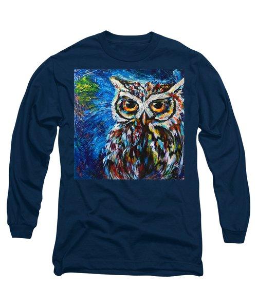 Midnite Owl Long Sleeve T-Shirt