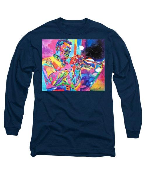 Miles Davis Bebop Long Sleeve T-Shirt