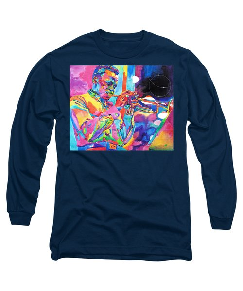 Miles Davis Bebop Long Sleeve T-Shirt