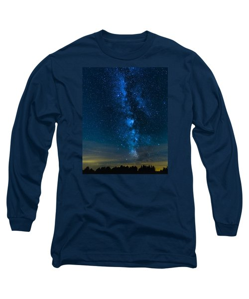 Milky Way Cherry Springs Long Sleeve T-Shirt
