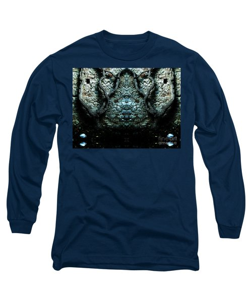 Mirror Mirror On The Wall Long Sleeve T-Shirt by Andy Prendy