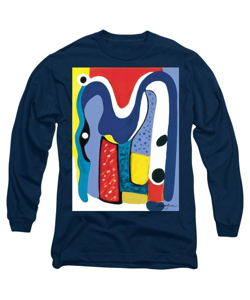 Mirror Of Me 1 Long Sleeve T-Shirt by Stephen Lucas