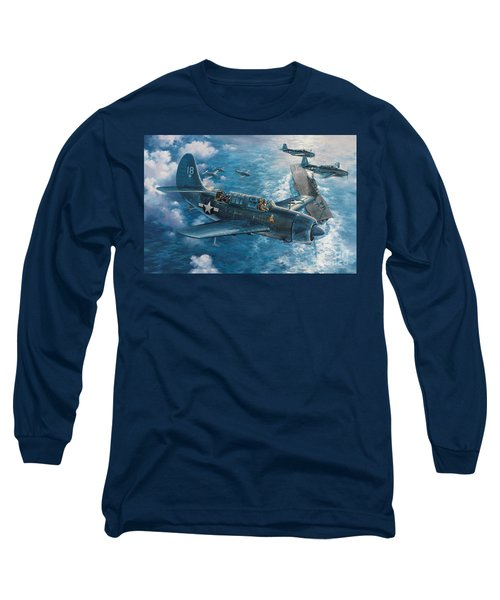 Mitscher's Hunt For The Rising Sun Long Sleeve T-Shirt