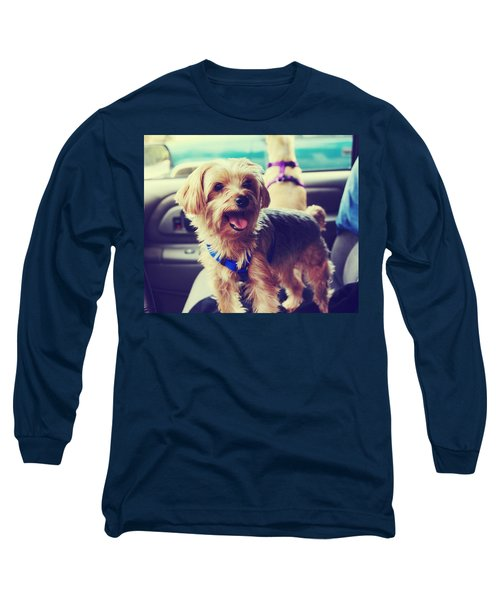 Long Sleeve T-Shirt featuring the photograph Molly's Road Trip by Laurie Search
