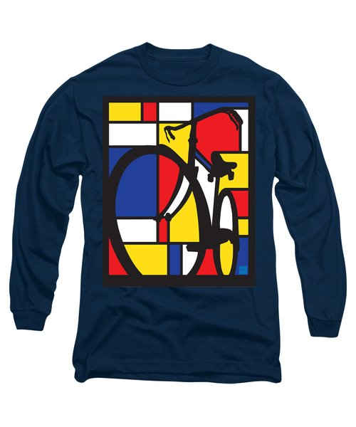 Mondrian Bike Long Sleeve T-Shirt