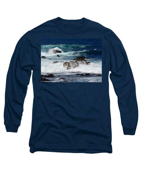 Long Sleeve T-Shirt featuring the photograph Monterey-6 by Dean Ferreira