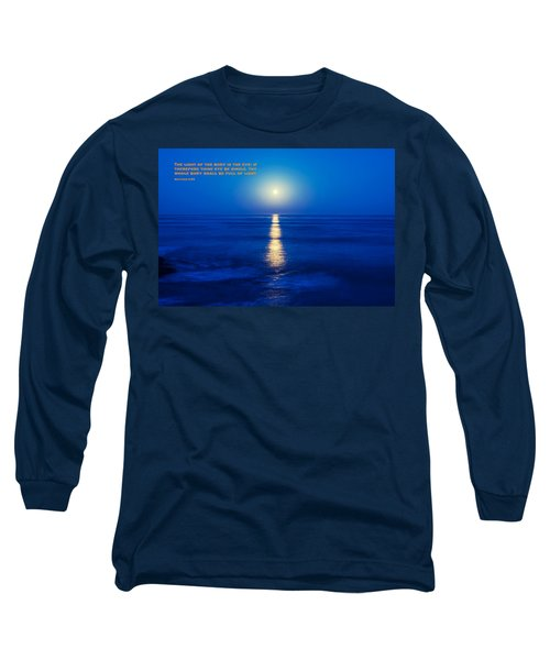 Moon And Light Long Sleeve T-Shirt