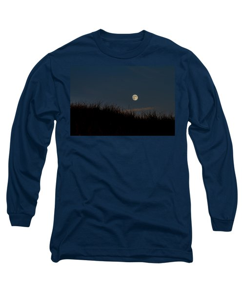 Moon Over The Dunes Long Sleeve T-Shirt