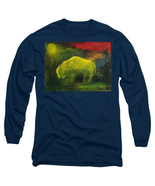 Moonlight Buffalo Long Sleeve T-Shirt