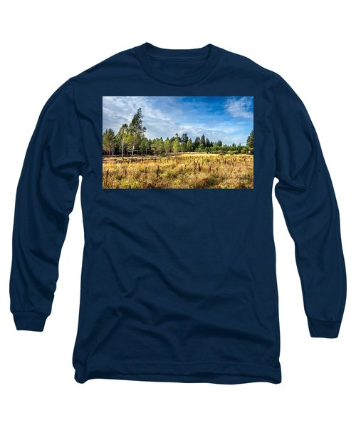 Wetlands In The Black Forest Long Sleeve T-Shirt