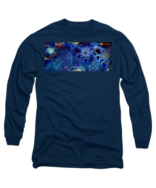 Long Sleeve T-Shirt featuring the digital art More Things In Heaven And Earth by Casey Kotas