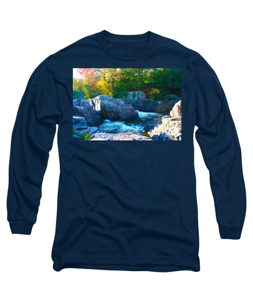 Morning In Eau Claire Dells Long Sleeve T-Shirt