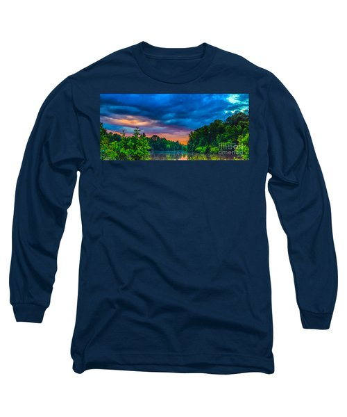 Morning On The Lake Long Sleeve T-Shirt