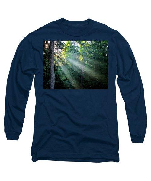 Long Sleeve T-Shirt featuring the photograph Morning Rays by Greg Simmons