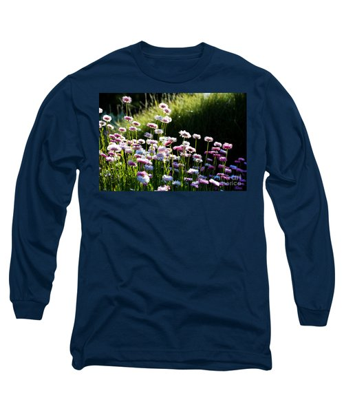 Long Sleeve T-Shirt featuring the photograph Morning Sun by Yew Kwang