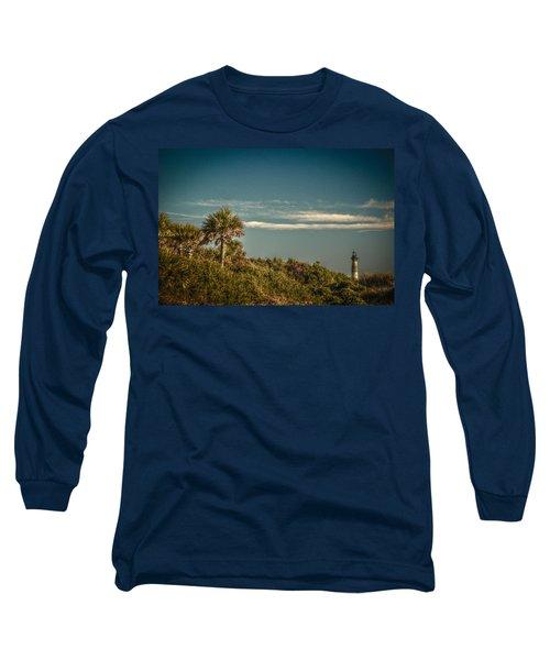 Morris Island Light Charleston Sc Long Sleeve T-Shirt