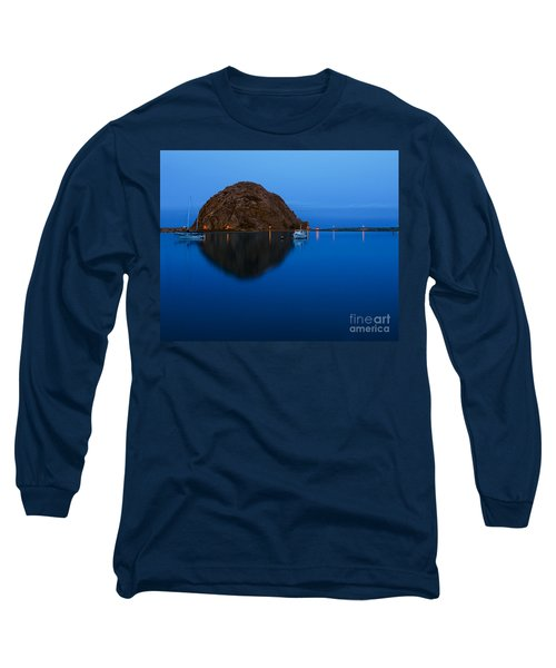 Morro Bay Calm Morning Long Sleeve T-Shirt