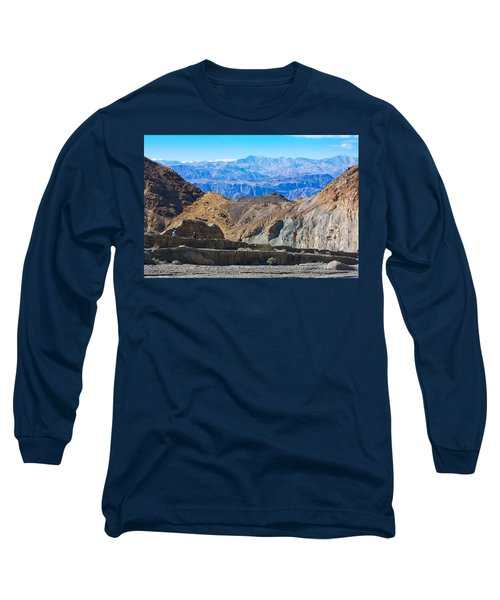 Long Sleeve T-Shirt featuring the photograph Mosaic Canyon Picnic by Stuart Litoff