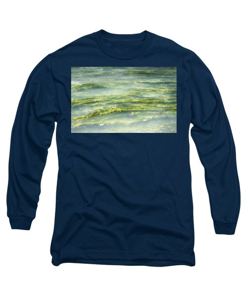 Mossy Tranquility Long Sleeve T-Shirt by Melanie Lankford Photography