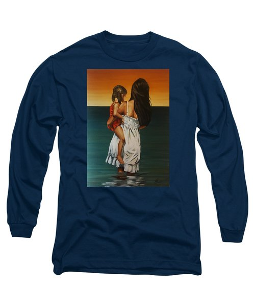 Mother And Daughter II Long Sleeve T-Shirt