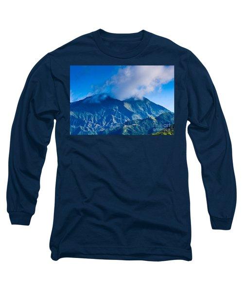 Mount Wai'ale'ale  Long Sleeve T-Shirt