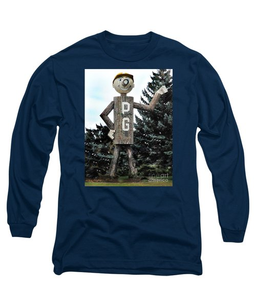 Mr. Pg Long Sleeve T-Shirt