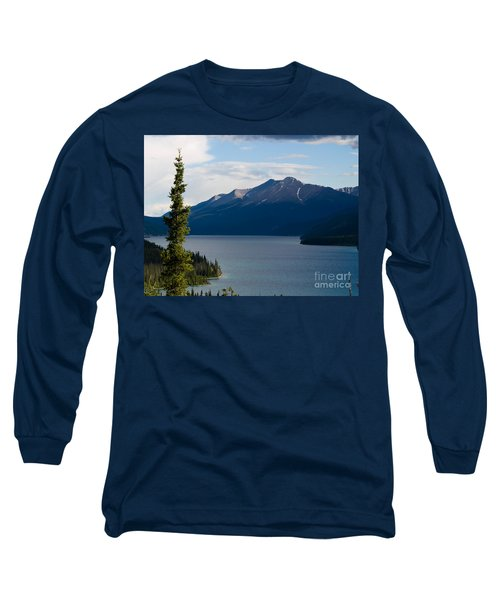 Muncho Lake Long Sleeve T-Shirt by Tara Lynn