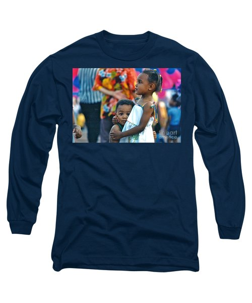 Long Sleeve T-Shirt featuring the photograph My Brother's Keeper by Sean Griffin
