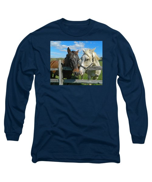 My Buddy Long Sleeve T-Shirt by Emmy Marie Vickers