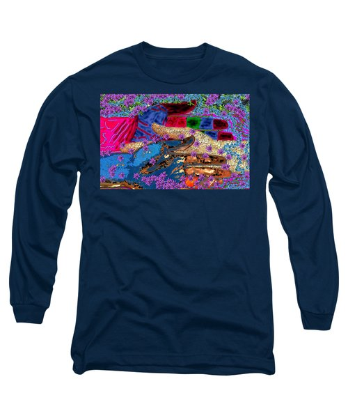 My Hand   Your Hand  And A Helping Hand Long Sleeve T-Shirt