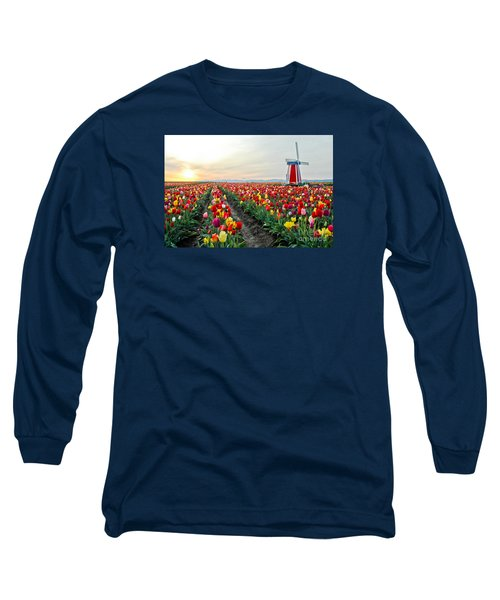 My Touch Of Holland 2 Long Sleeve T-Shirt by Nick  Boren