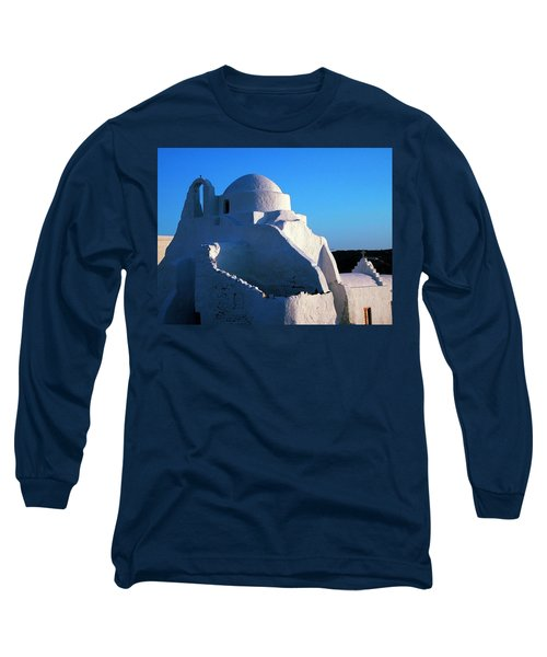 Long Sleeve T-Shirt featuring the photograph Mykonos Island Greece by Colette V Hera  Guggenheim