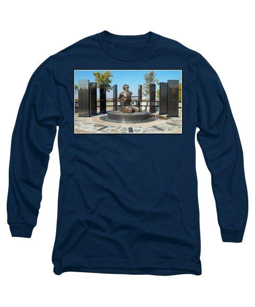 National Pow - M I A Memorial  Long Sleeve T-Shirt