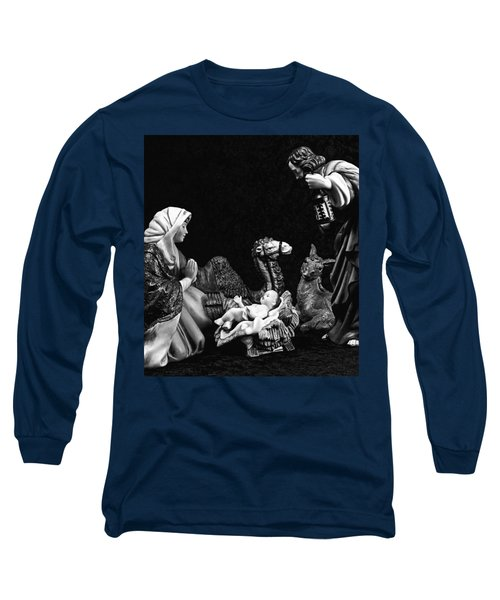 Long Sleeve T-Shirt featuring the photograph Nativity  by Elf Evans