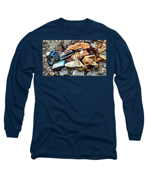 Nature Rocks Long Sleeve T-Shirt by Peggy Franz