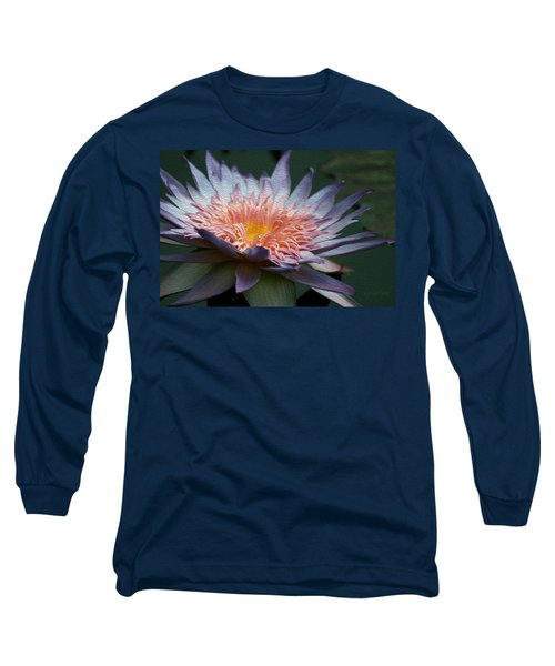 Nature's Baroque Long Sleeve T-Shirt by Yvonne Wright