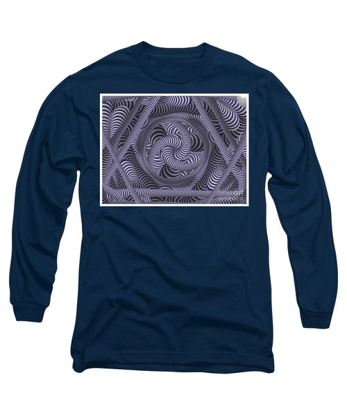 Nautical Coloured Design Long Sleeve T-Shirt