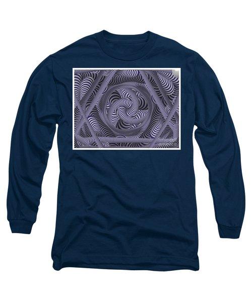 Nautical Coloured Design Long Sleeve T-Shirt