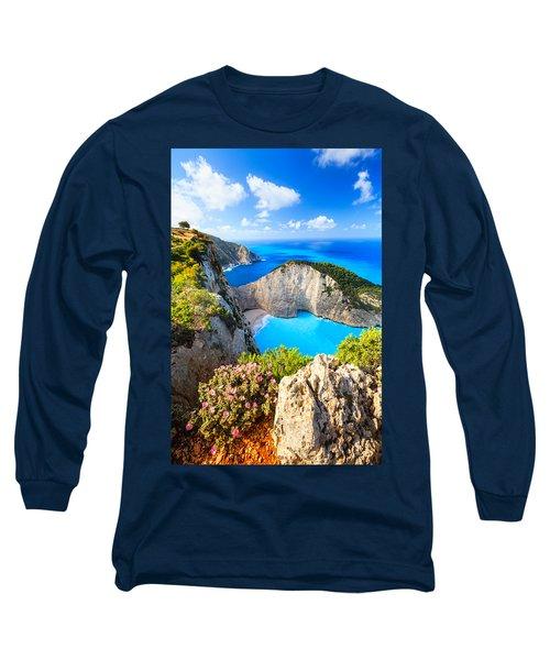 Navagio Bay Long Sleeve T-Shirt