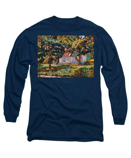 Near The Tech Duck Pond Long Sleeve T-Shirt