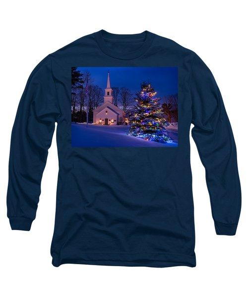 New England Christmas Long Sleeve T-Shirt