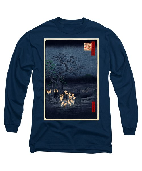 New Years Eve Foxfires At The Changing Tree Long Sleeve T-Shirt